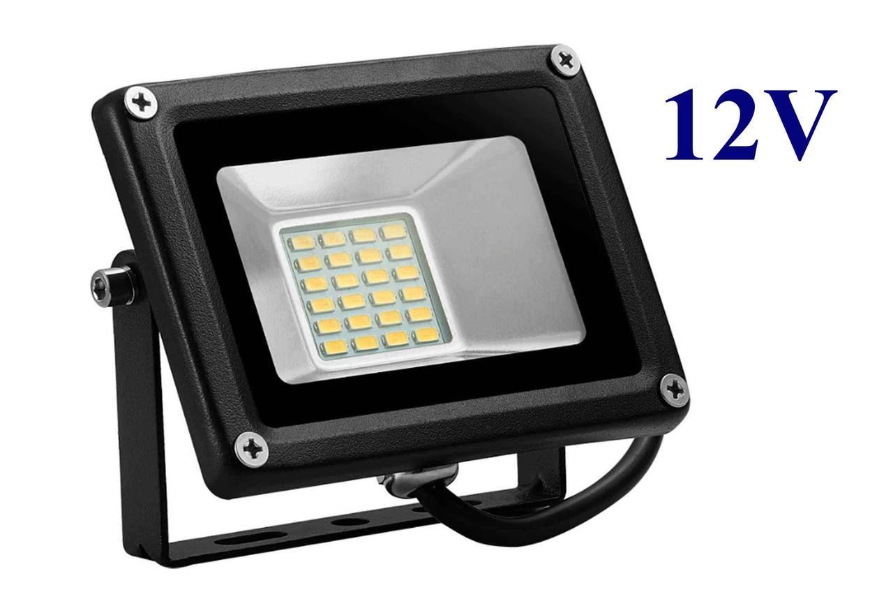 Светодиодный прожектор DC12V 20 Вт уличный