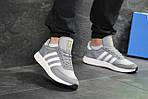 Мужские кроссовки Adidas Iniki (серые), фото 4