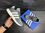 Мужские кроссовки Adidas Iniki (серые), фото 6