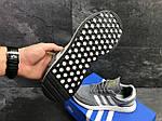Мужские кроссовки Adidas Iniki (серые), фото 5