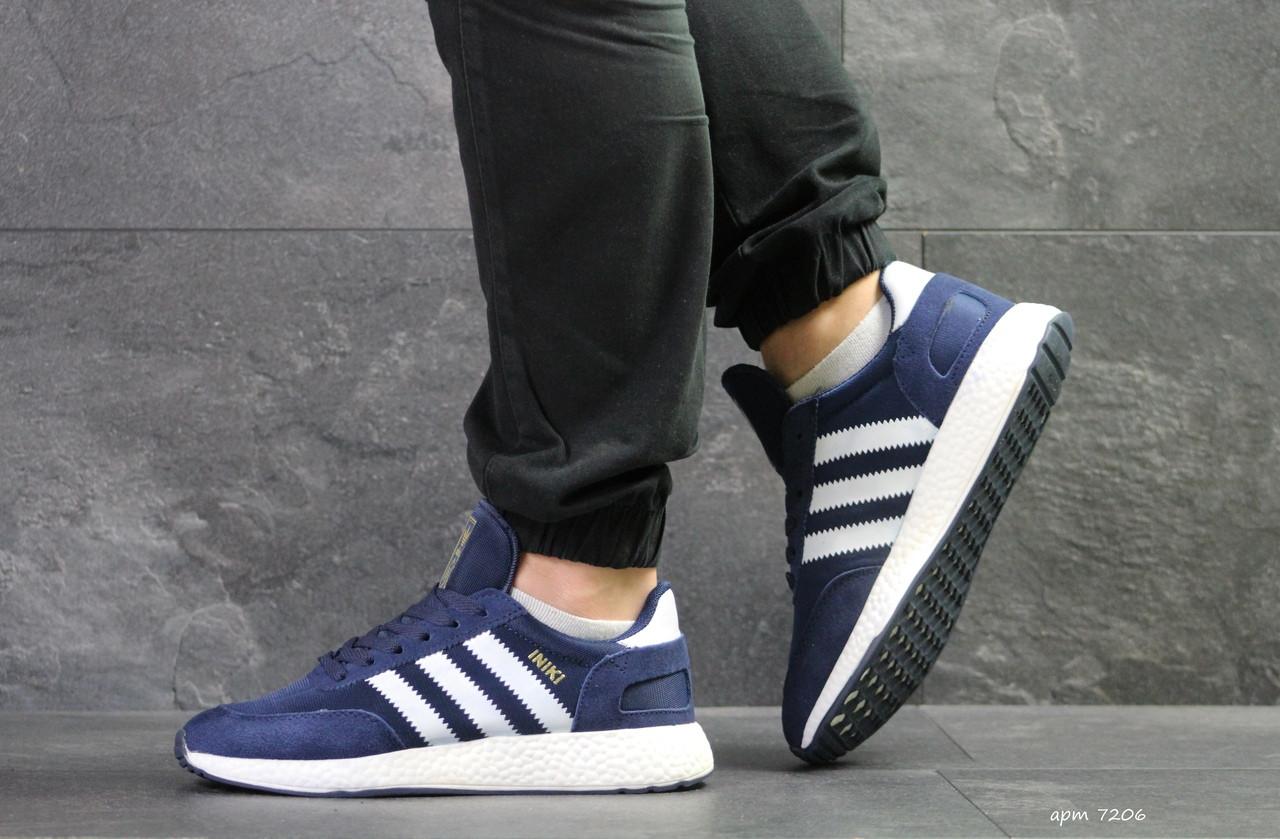 Чоловічі кросівки Adidas Iniki (сині)