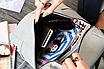 Рюкзак женский сумка кожзам с заклепками Vanesa Серый, фото 6