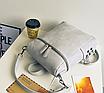 Рюкзак женский сумка кожзам с заклепками Vanesa Серый, фото 5
