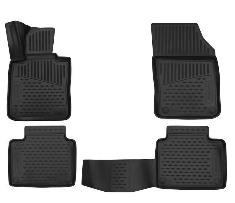 Коврики 3D в салон (полиуретан) для Volvo V90 Cross Country (2016-2019)