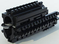 База креплений с тремя планками Пикатинни CQR type AK-v1gp