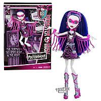 Кукла Monster High Монстер Хай Spectra Vondergeist Спектра Вондергейст Power Ghoul Супер герои