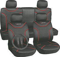 Комплект автомобильных чехлов MILEX Classic универсальных серых AG-7262/4 / Комплект авточохлів Мілекс Классік