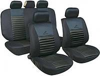 Авточохли MILEX Tango універсальні чорні AG-24016/1 / Комплект автомобильных чехлов Милекс Танго универсальные