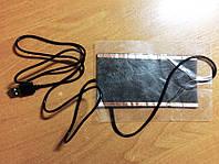 Нагревательный элемент в обувь / одежду с питанием от USB до 50 градусов №8 11*16 см, ламинат, USB