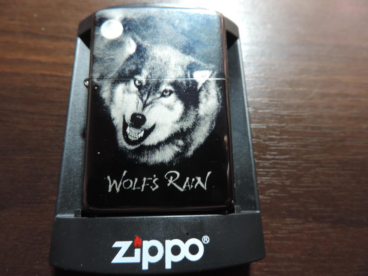 Зажигалка Zippo «Wolfs rain» копия