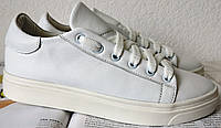 White Белые эффектные стильные кожаные кеды обувь весна лето для девочек и женщин