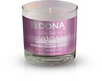 Массажная свеча с ароматом Страсть DONA Scented 135 гр