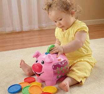 Музыкальная свинка-копилка Fisher Price прокат в Харькове, фото 2