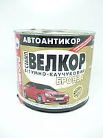Мастика ВЕЛКОР бітумно-каучукова БРОНЗА   1,8кг  VELVANA