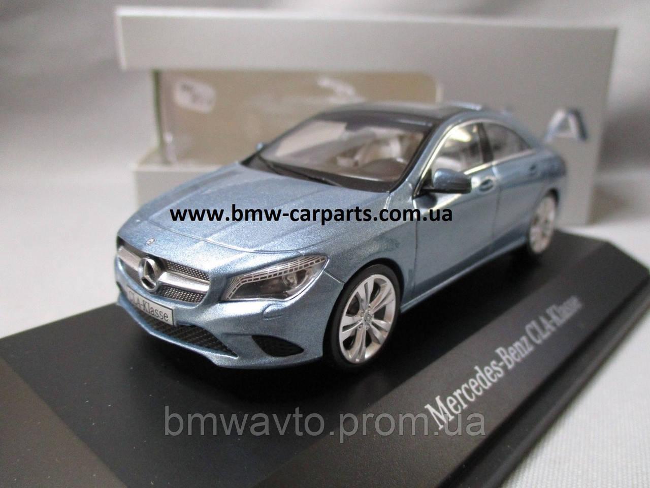 Модель Mercedes-Benz CLA, Scale 1_43, Turquoise