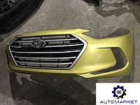 Бампер передний Hyundai Elantra 2016- (AD)