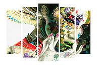 Модульная картина Декор Карпаты 120х80 см Девушка (M5-154)