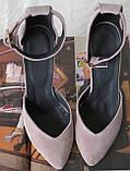 Mante! Красивые женские цвет латте босоножки туфли каблук 10 см весна лето осень, фото 7
