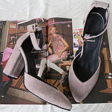 Mante! Красивые женские цвет латте босоножки туфли каблук 10 см весна лето осень, фото 2