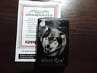 Зажигалка Зиппо Zippo-«WOLFS-RAIN» оригинал. Распродажа старых коллекций.