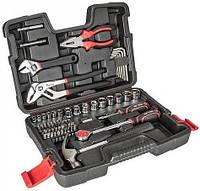 """Набор инструмента Top Tools 38D510 1/4"""", 1/2"""", 81 ед."""