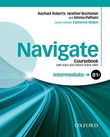 Navigate Intermediate Coursebook with DVD and Online Skills