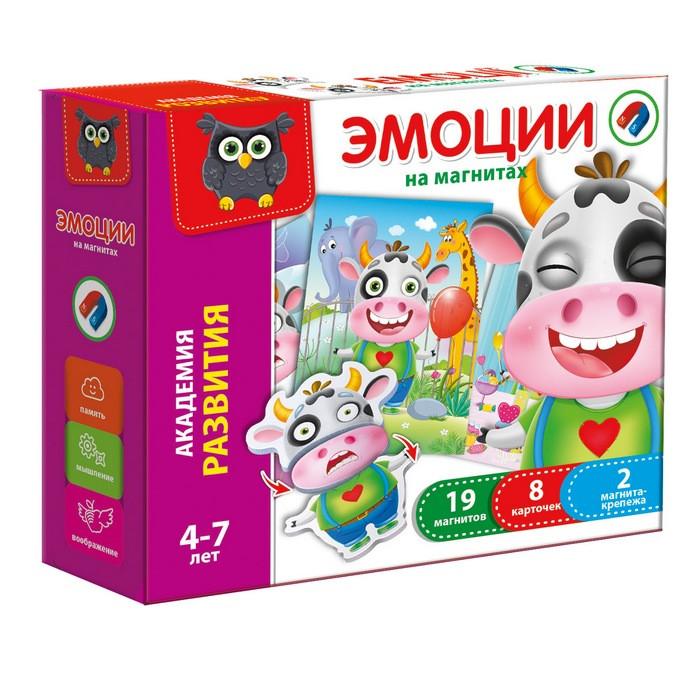 Игра магнитная Vladi Toys Эмоции (Рус) (VT5422-01)