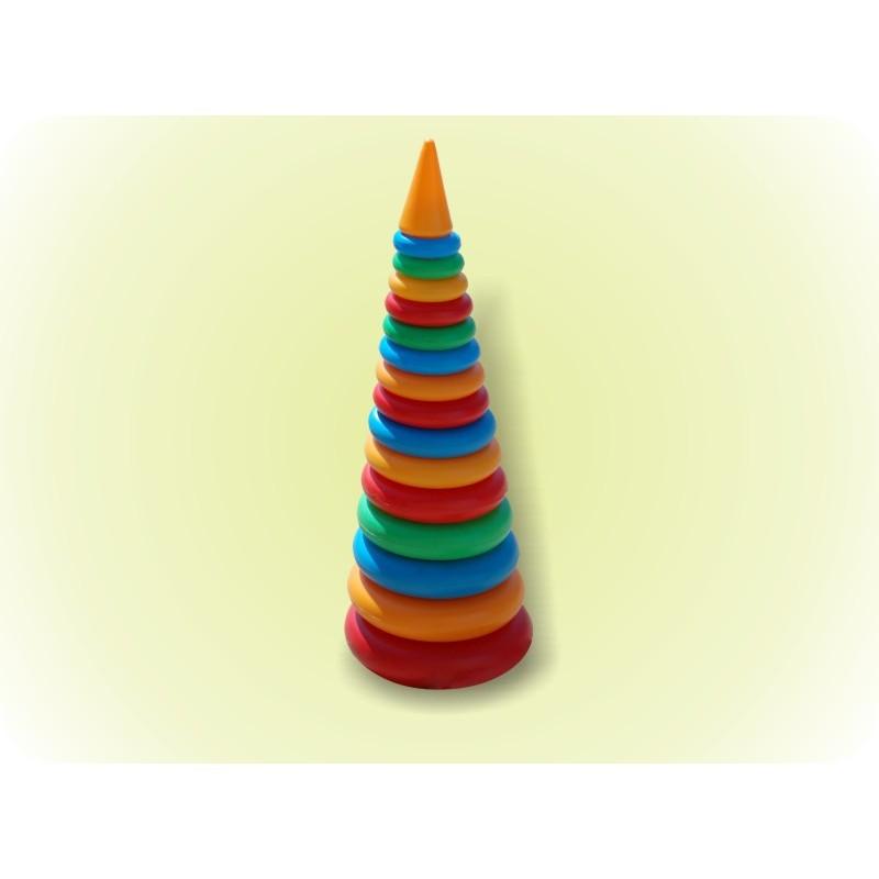 🔥✅ Детская развивающая Пирамидка 019/1 игрушка №4