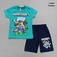 Летний костюм Minecraft для мальчика. 98 см, фото 1