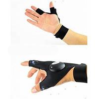 Рукавичка з ліхтариком Освітленої fishing Gloves