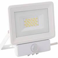 Прожектор LED Videx 20W 5000K 220V (VL-Fe205W) с датчиком движения