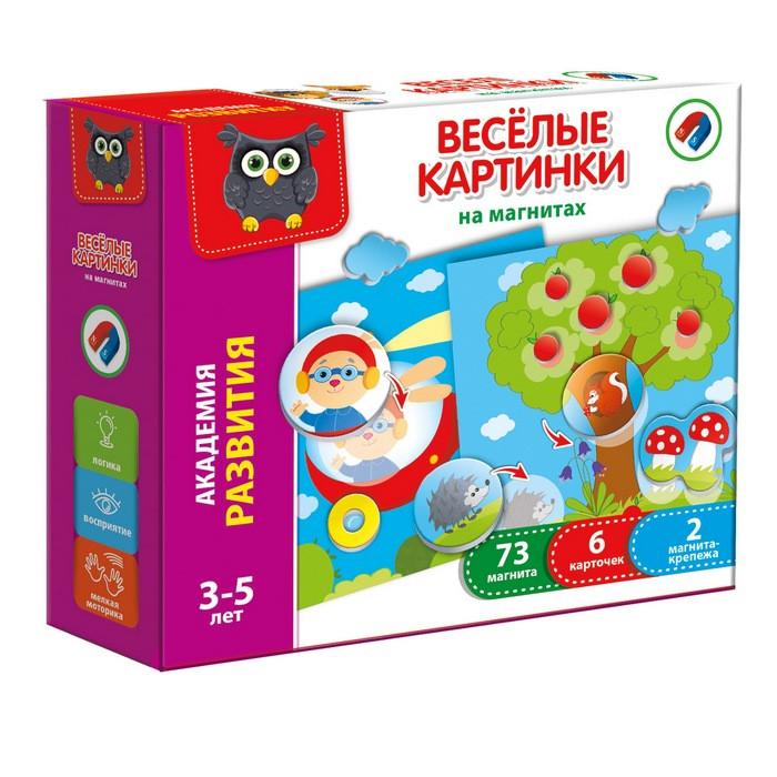 """Игра Vladi Toys """"Веселые картинки"""" магнитная (Рус) (VT5422-02)"""