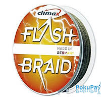 Шнур Climax Flash Braid Green 100m 0.28mm 21kg (9261-10100-028)