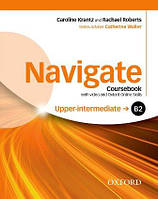 Navigate Upper-Intermediate Coursebook with DVD and Online Skills