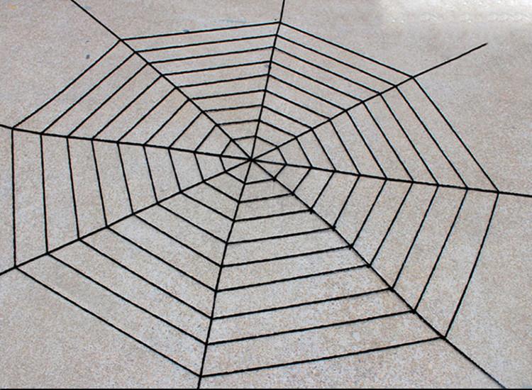 Большая паутина прикол! Жуткая паутина 3,6м! декоративная, велюровая
