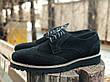 Мужские натуральные кожаные броги\туфли Onyx Suede, фото 3
