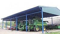 Будівнитство ангарів,зерноховищ,навісів на техніку,накриття.ю, фото 1