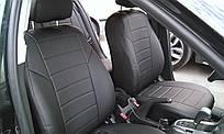 Чехлы на сиденья Хендай Акцент (Hyundai Accent) (универсальные, экокожа, отдельный подголовник)