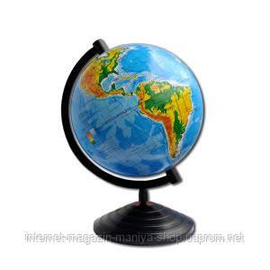 Глобус Д220 УКР. Географический