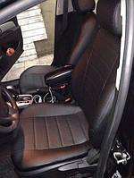 Чехлы на сиденья Опель Астра Ф (Opel Astra F) (универсальные, экокожа, отдельный подголовник)
