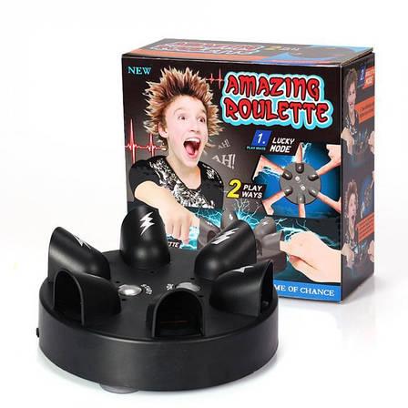 "Шок игра ""ШОК РУЛЕТКА"" SHOCKING ROULETTE. рулетка-шокер на 6 игроков , фото 2"