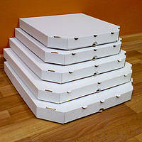Коробки для пиццы, 280х280х37, белая