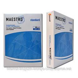 Бумага для ксерокса А4 500 л. пл. 80 г. «Maestro…