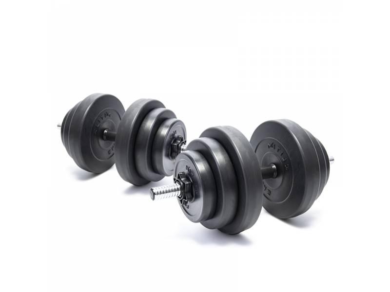 Гантелі композитні Elitum 2 х 18 кг