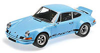 Автомодель MINICHAMPS Porsche 911 Carrera RSR 2.8 1973 (107065021) Голубая