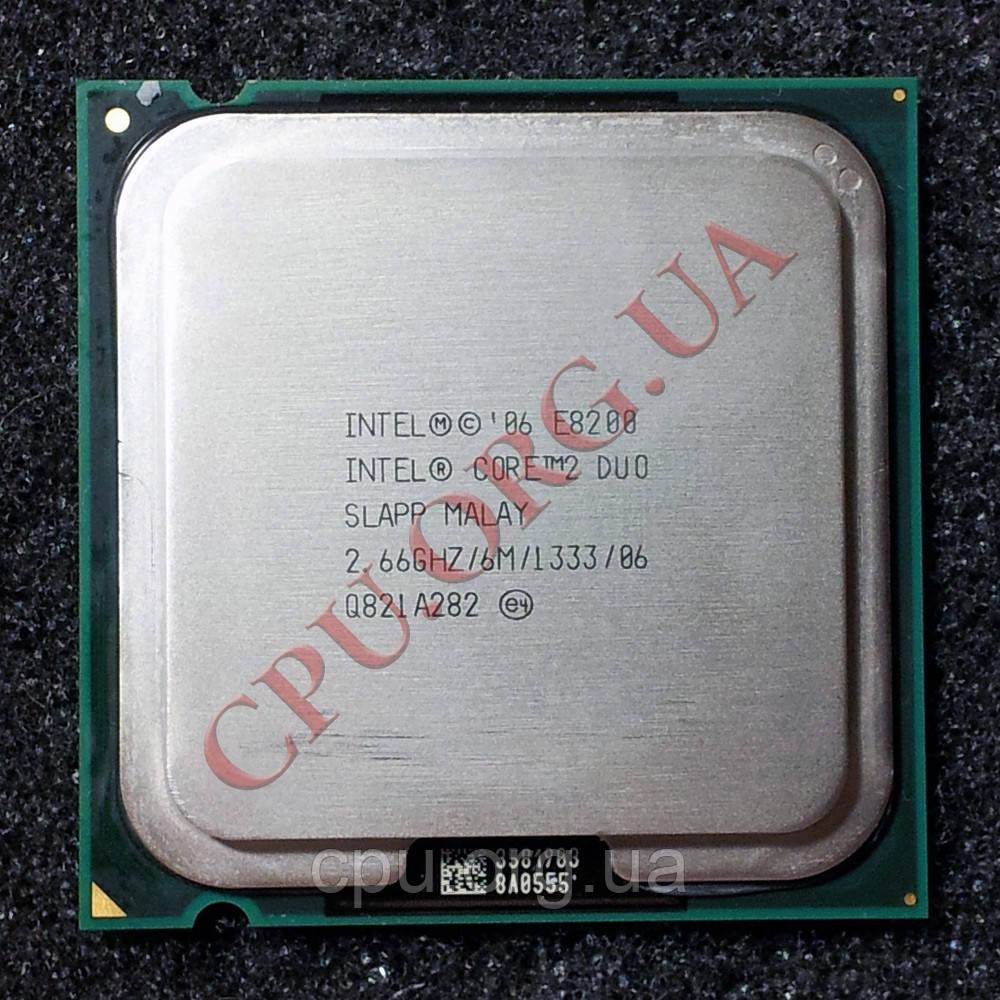 Процессор Intel Core 2 Duo E8200 2,66GHz/6M/1333 LGA775 (SLAPP)