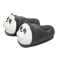Плюшевые тапочки для кигуруми игрушки Панда / тапки кигуруми для дома пандочки панды