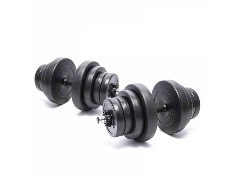 Гантели композитные Elitum 2 х 21 кг