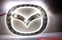 Подсветка эмблемы G-VIEW MAZDA 5 светодиодная (белый и красный) без эмблемы, фото 1
