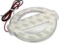 Подсветка эмблемы G-VIEW NISSAN Qashqai светодиодная (белый и красный) без эмблемы